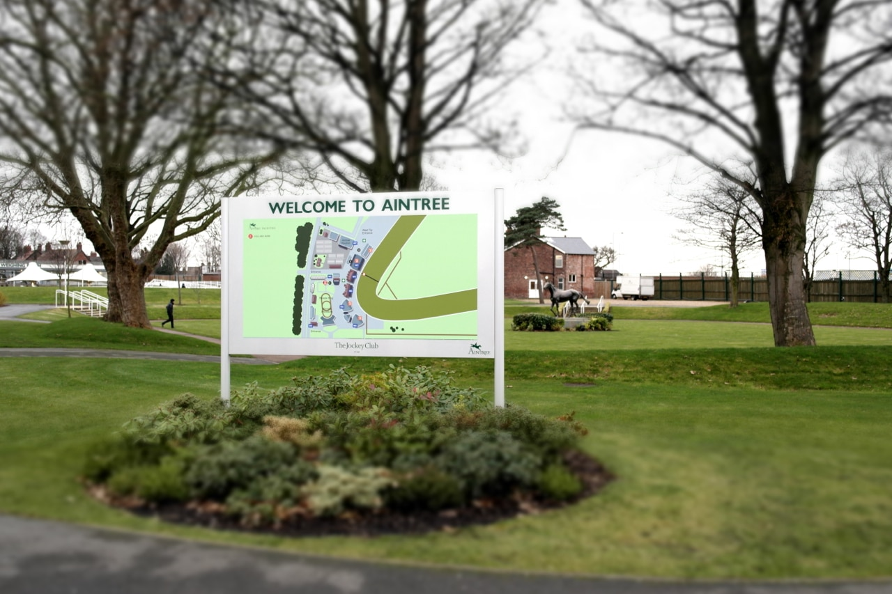 Aintree Welcome